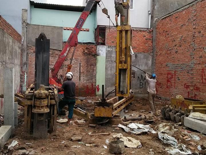 Ép cọc bê tông tại phường Bửu Long TP Biên Hòa