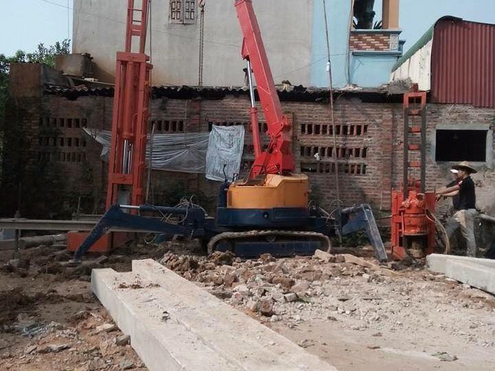 ép cọc bê tông tại phường trảng dài TP Biên Hòa