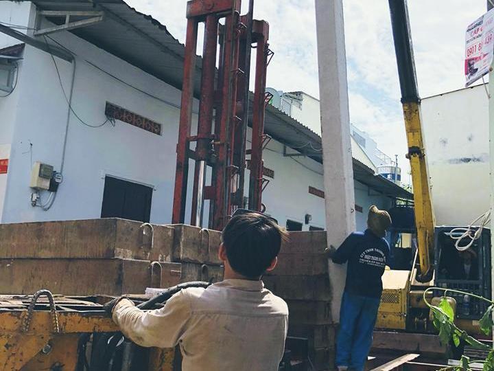 ép cọc bê tông tại xã phước tân TP Biên Hòa