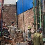 ép neo cọc bê tông cốt thép nhà xây chen