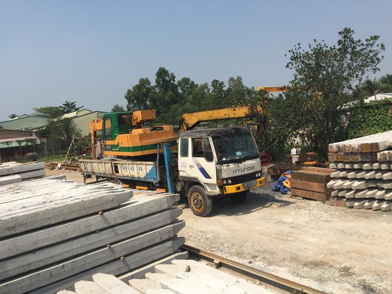 Xưởng sản xuất cọc bê tông