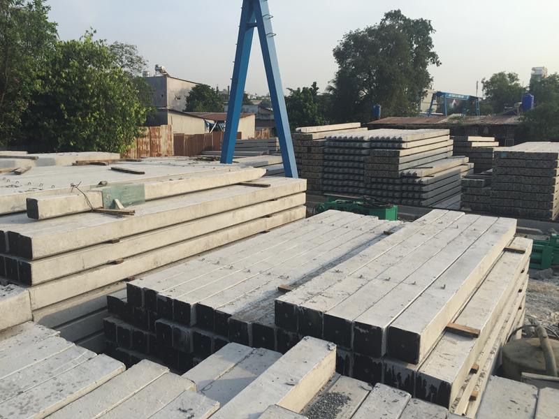 Sản xuất cọc bê tông giá rẻ
