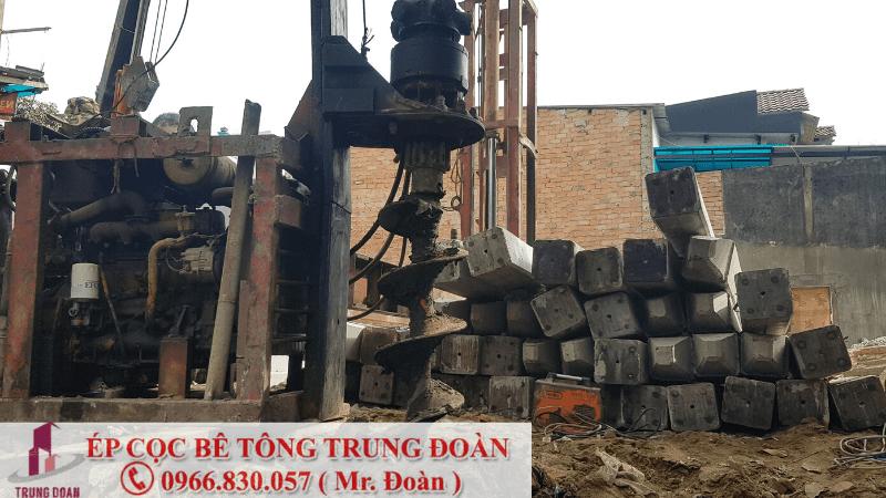 ép cọc bê tông huyện Trảng Bom tỉnh Đồng Nai