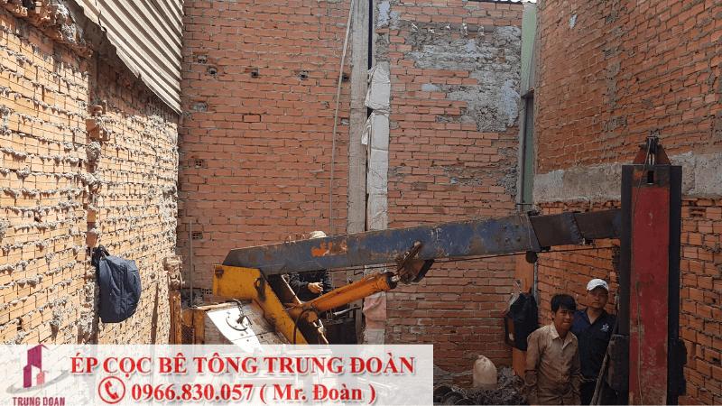Ép cọc bê tông huyện Tân Phú tỉnh Đồng Nai