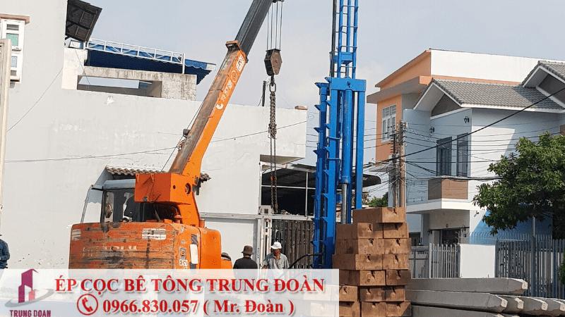 Báo giá thi công ép cọc bê tông tại tỉnh Đồng Nai - Ép cọc Trung Đoàn