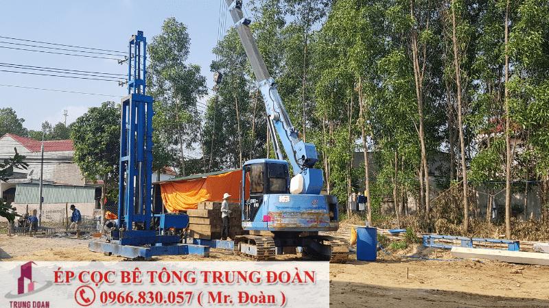 Cung cấp dịch vụ ép cọc bê tông tại tỉnh Tiền Giang - Ép cọc Trung Đoàn
