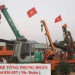 ép cọc bê tông huyện Xuân Lộc