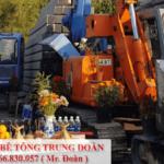 Nhận ép cọc bê tông tại Long An