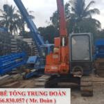 Thi công ép cọc bê tông tại tỉnh Đồng Nai