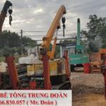 Ép cọc bê tông Long Thành Đồng Nai