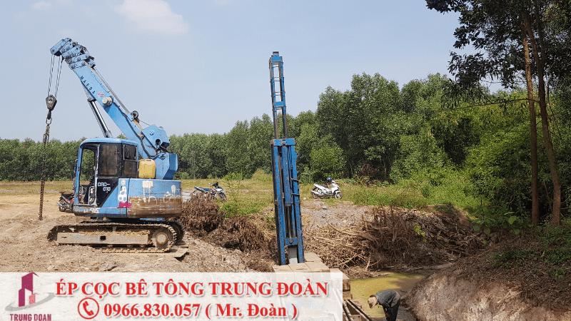 Ép cọc bê tông tại phường Quyết Thắng TP. Biên Hòa