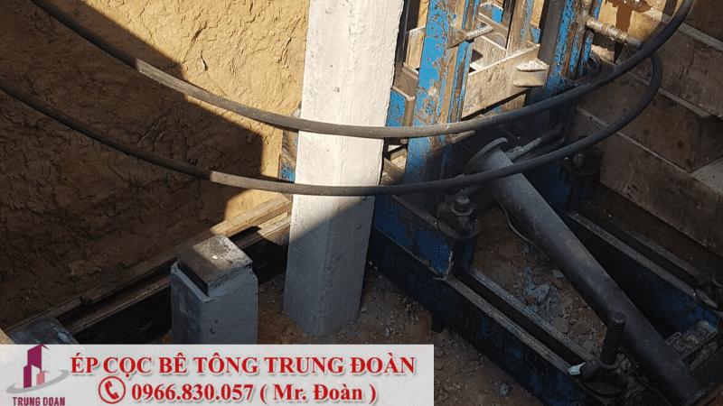 Nhận thi công ép cọc bê tông tại Bình Thuận - Trung Đoàn