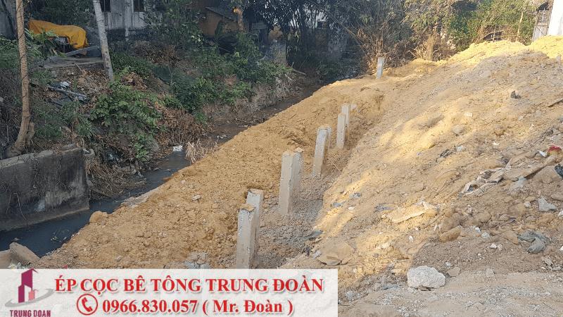 Ép cọc bê tông huyện Thống Nhất tỉnh Đồng Nai