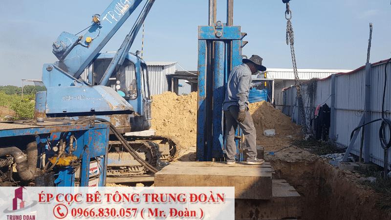 ép cọc bê tông tại phường Tân Hòa TP. Biên Hòa