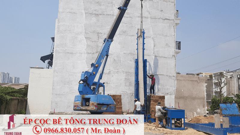 Dự án ép cọc tại phường Tân Phong TP. Biên Hòa