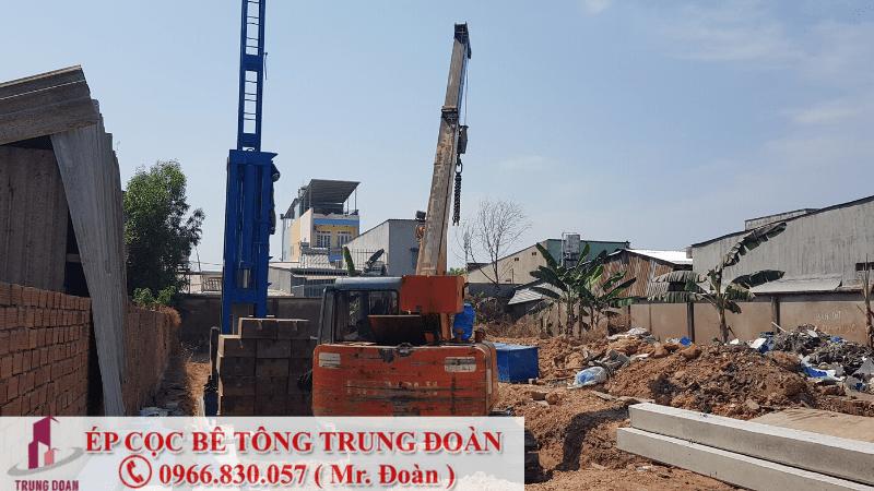 Ép cọc bê tông tại phường Thanh Bình TP. Biên Hòa