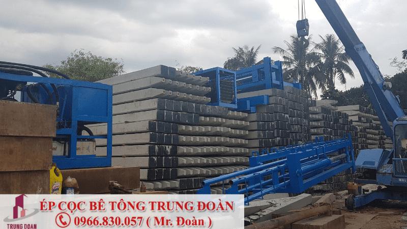 Ép cọc bê tông tại phường Tân Mai TP. Biên Hòa