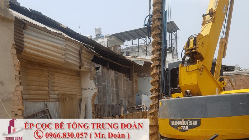 Ép cọc bê tông tại phường Tân Hiệp TP. Biên Hòa
