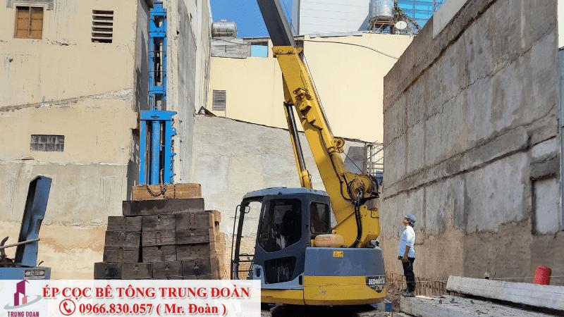 Ép cọc bê tông đường Đồng Khởi Biên Hòa