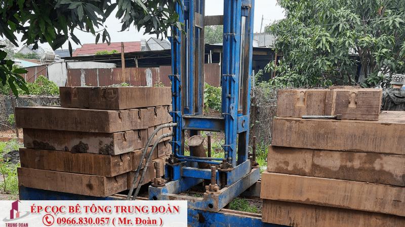 Ép cọc bê tông ở khu vực cù lao biên hòa đồng nai
