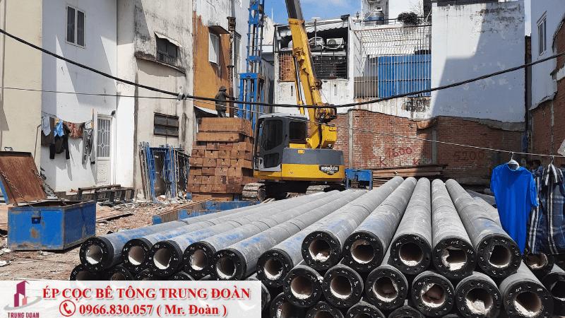 Ép cọc bê tông giúp công trình bền bỉ gấp 4 lần phương pháp truyền thống